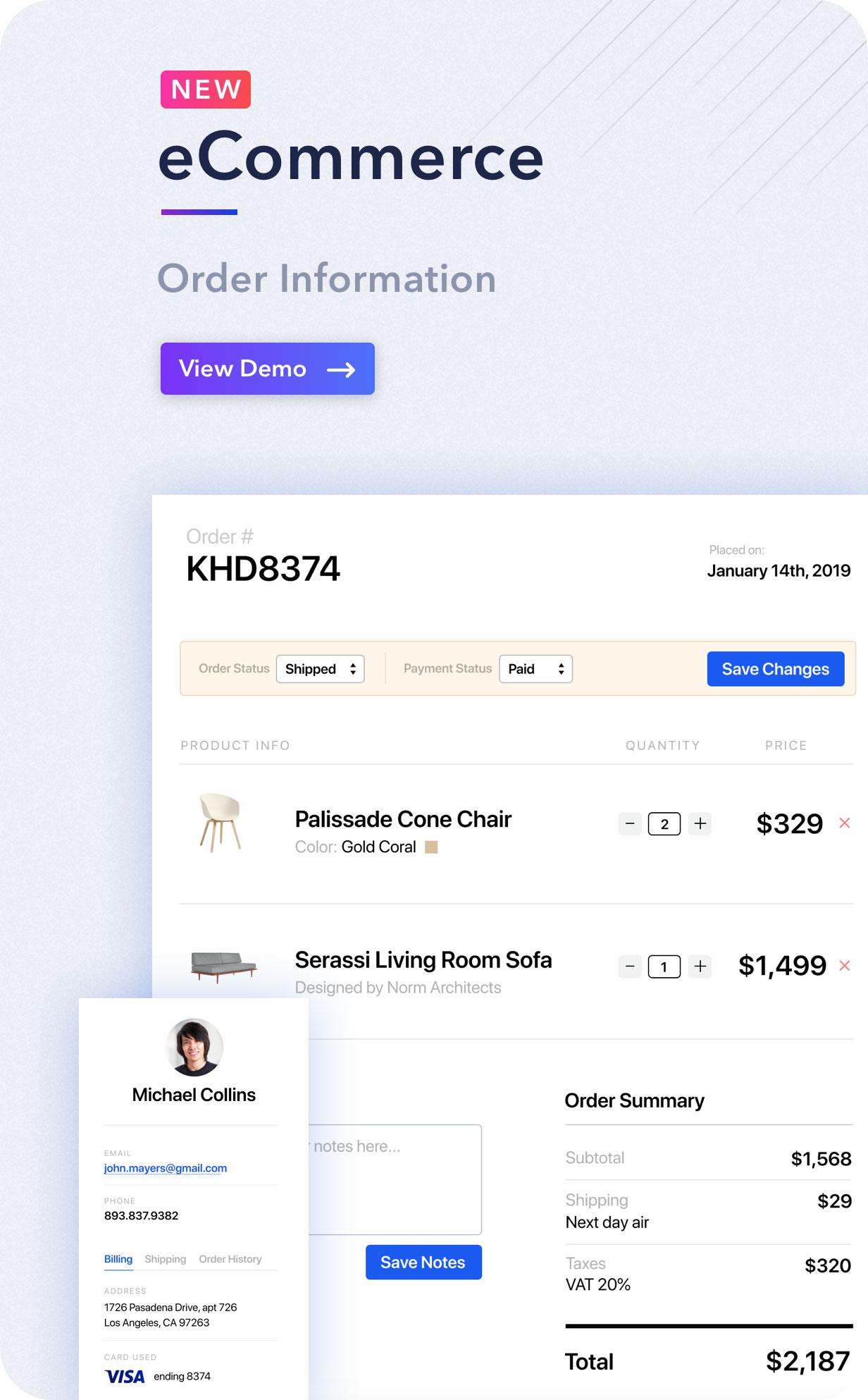 Light Admin - Clean Bootstrap 4 Dashboard HTML Template - 2