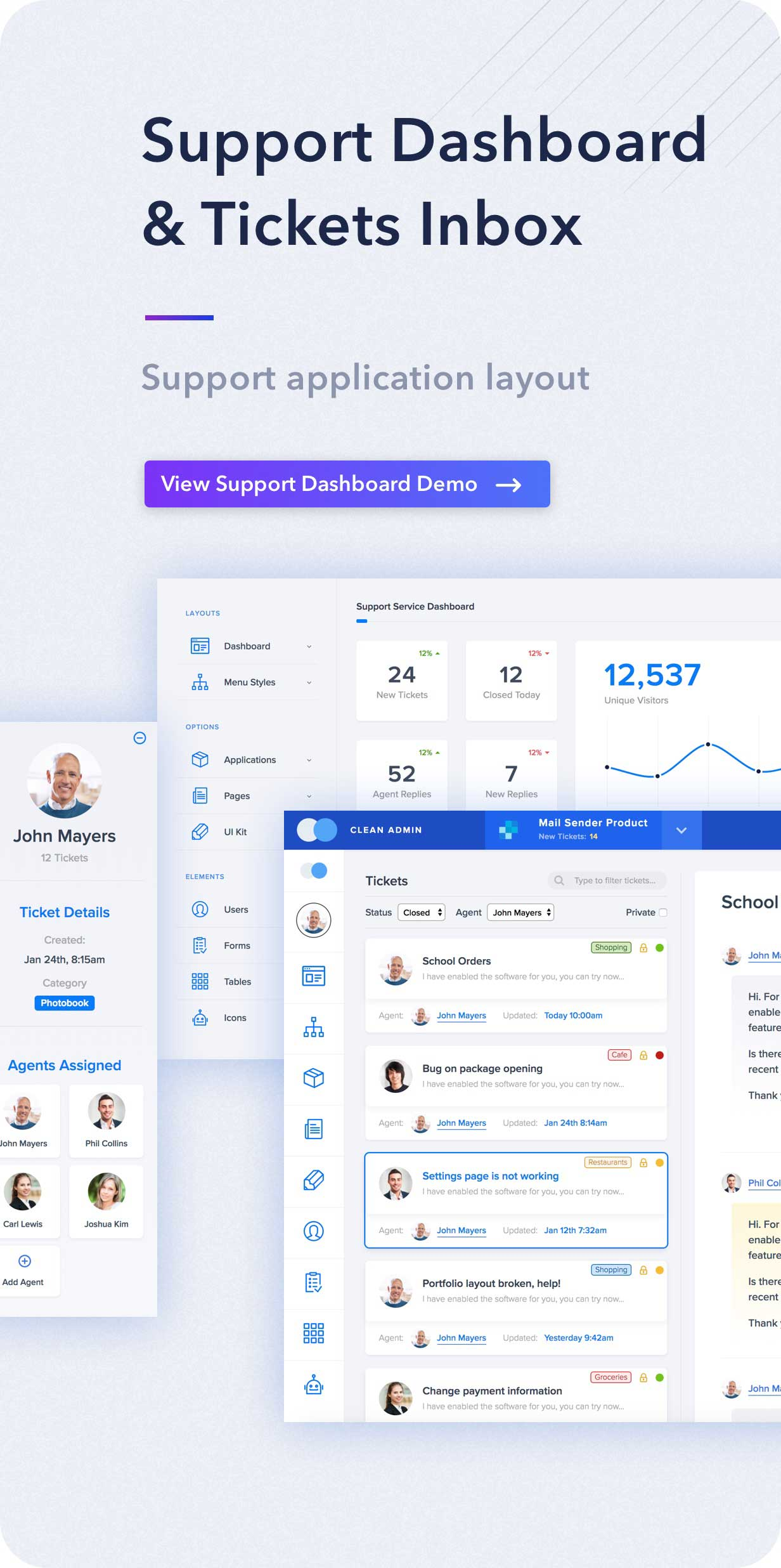 Light Admin Clean Bootstrap Dashboard HTML Template With Crypto - Template invoice free silhouette online store