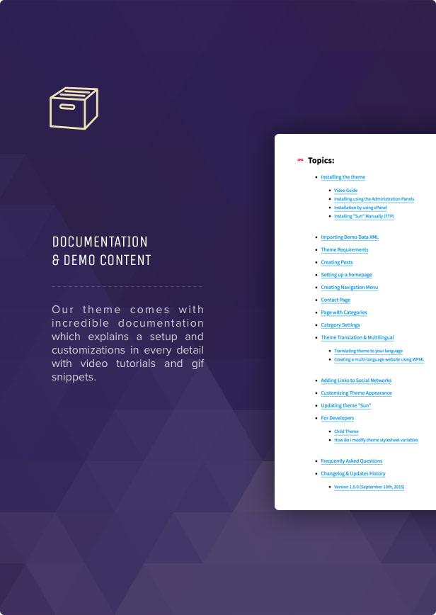 Sun - Grid News Blog con tema de enlaces de afiliados para WordPress - 14